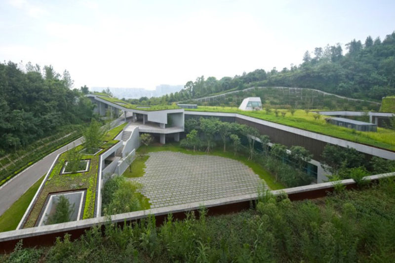 Blog 1605 Chongqing Taoyuanju Community Center By Vector Architects Future Of Living